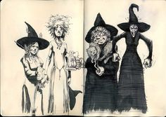 The Witches of Lancre by i-am-mighty