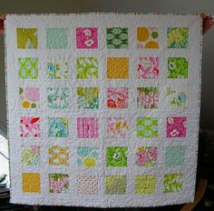 Great beginner quilt.  Fabric choices are only limited by your Stash or your Imagination...