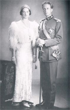 King Leopold III of the Belgian People and consort, Queen Astrid.
