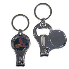 Siskiyou Sports MLB 3-in-1 Keychain - STL Cardinals