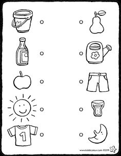 Emotions Preschool, Preschool Worksheets, Preschool Activities, Word Family Activities, English Activities, Easy Coloring Pages, Writing Practice, Kids Learning, Kids Playing