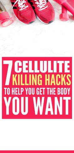 These 7 Scientifically proven ways to reduce cellulite before summer are THE BEST! I'm so glad I found these AWESOME tips! Now I have some awesome ways to get my beach body ready! Definitely pinning!