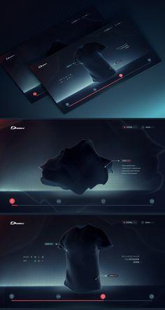 Demix website concept by Ruslanlatypov