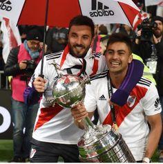 COPA LIBERTADORES DE AMÉRICA 2018 NACHO SCOCCO PITY MARTÍNEZ Nachos, Carp, Football, Mariana, Amor, Athlete, Thanks, Life, Soccer