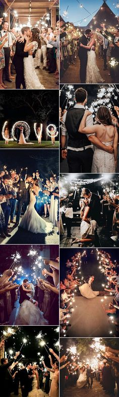 trending sparklers send off wedding photo ideas #weddingideas #weddingphotos #weddingexits #weddingsparklers