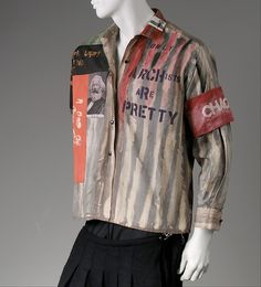 Shirt by Vivienne Westwood from SEX house, 1976: