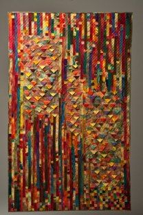 Ripple EffectsBest Use of Fiber, Coastal Fiberarts 2013 by Janet Hillier I really like this