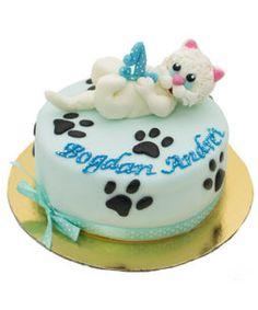 tort figurina pisica Cake, Desserts, Food, Tailgate Desserts, Deserts, Kuchen, Essen, Postres, Meals