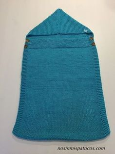 tejido a mano Alabama, Pot Holders, Sleeping Bags, Hand Knitting, Knitting Projects, Baby Knitting, Yarns, Sacks, Sleepsack