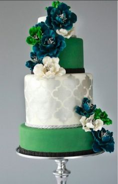 Emerald Green, the Pantone 2013 Color Wedding Inspirations | Wed Me Pretty