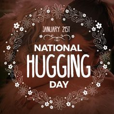 Did you know that when someone hugs you, the sensation on your skin activates the area of the brain that is responsible for lowering blood pressure? Go hug someone!