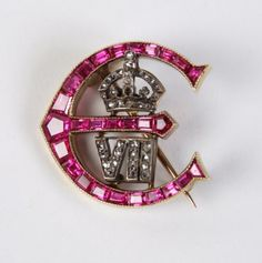 greville jewels   ... Edward VII to Mrs Greville of Polesden Lacey, in rubies and diamonds