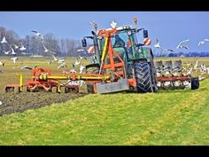 Ploughing and soil preparation in one pass with a Fendt 936 Vario with Kverneland 7 furrow LO 100 U Tube, Tube Video, The 100, Preschool, Park, Videos, Agriculture, Tractor, Kid Garden