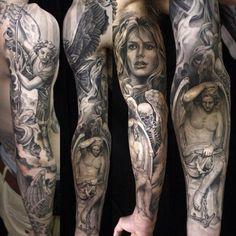 Tattoo by Eric Marcinizyn http://ericmarcinizyn.blogspot.it/