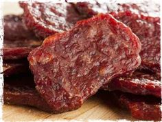 Beef Jerky -- Preserving Meat WITHOUT Refrigeration-- Smoking, Curing, Salting, Dehydrating