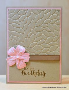 JanB Handmade Cards Atelier: Bunch Of Blossoms Stamp Set