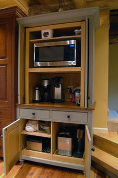 convert tv armoire to pantry - Google Search | pantry | Pinterest ...