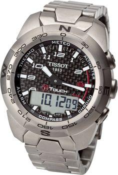Tissot Men's T0134204420200 T Touch Expert Watch