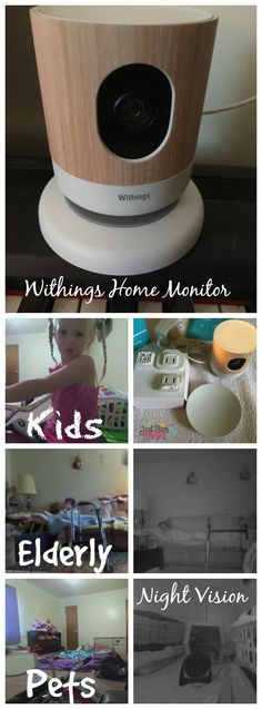 The Withings Home Monitor alerts me on my phone when there is noise or motion sensed. Besides using it for my mom, we also used it for Harley.