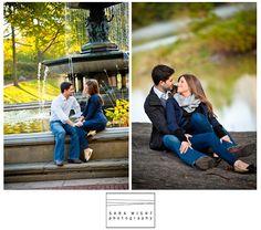 engagement photos in Central Park! aww #AerieFNO