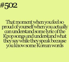 me at a starbucks and a mcdonalds when i heard korean people talking. just a few words but i knew that words :D