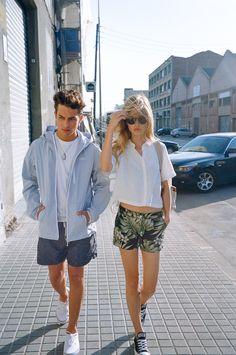 Trait Store Lookbook SS15 #fashion #bcn #barcelona #lookbook #man #guy #woman #girl #clothing #store #streetwear #sneakers #35mm #film #sarasani #editorial #penfield #lazyoaf #nativeyouth #converse #vans #herschel #herschelsupply #hankjobenhavn