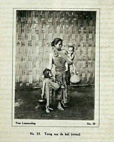 Pulang dari kali, Jawa Pebruari 1915.