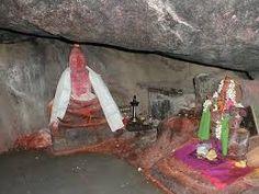 Basar Saraswati Temple: Veda Vyasa cave, Basar