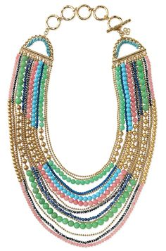 Ah Stella, you are so beautiful. The Zahara Bib Neccklace. I can hook it up!