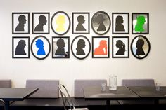 Google Office, Cool Silhouettes, Silhouette Art, Office Art, Architect Design, Dorm Decorations, Interior Inspiration, Gallery Wall, Nyc
