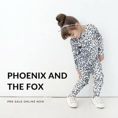 The super cool Phoenix and the Fox range is on it's way to Little Styles - yipee! Shop the pre-sale online now @phoenixandthefox #littlestyles
