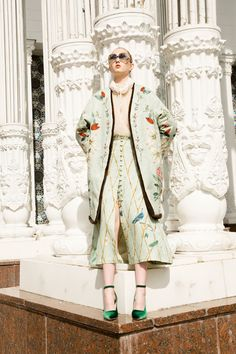 Alena Akhmadullina Resort 2018 Fashion Show Collection