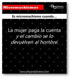 101 Ejemplos de Micromachismos #Micromachismo #Micromachismos #mM