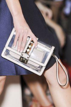Transparent Valentino Bag