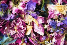 Make potpourri from flowers grown in your own garden driedflowercraft.co.uk - or use as natural wedding confetti