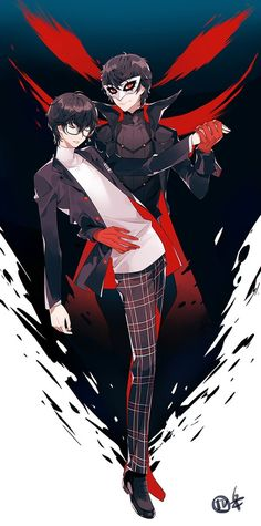 Chokko semi hiatus (@Chokkolatte_)   Twitter Persona Five, Persona 5 Joker, Ren Amamiya, Shin Megami Tensei Persona, Akira Kurusu, Dark Drawings, Animation, All Anime, Manga