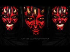 Darth Maul (Star Wars) Makeup Tutorial | NO Prosthetics