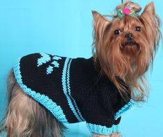 Crochet Animals, Crochet Hats, Dog Sweater Pattern, Dog Jumpers, Wool Art, Dog Sweaters, Dog Dresses, Rubrics, Cute Baby Animals