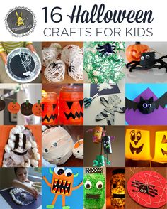 Easy and Fun Halloween Crafts for Kids   TinkerLab