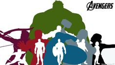 The Avengers Silhouette Wallpaper Widescreen by ~Timetravel6000v2 on deviantART