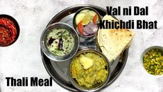 Val ni Dal Khichdi Bhat with Kadhi & Sides Video Recipe Pressure Cooker Recipes, Pressure Cooking, Bhavna's Kitchen, Gujarati Cuisine, Modern Food, Vegan Foods, Vegan Dinners, Superfood, Food Videos