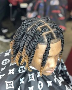 Black Boy Hairstyles, Dreadlock Hairstyles For Men, Twist Braid Hairstyles, Men Hairstyles, Twist Braids, Haircuts, Hair Twist Styles, Hair And Beard Styles, Natural Hair Styles
