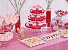 Easy Valentine's Day Party for elementary age girls.
