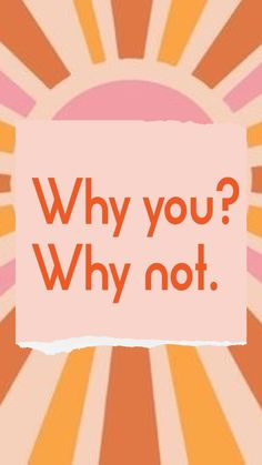Why you? Why not? #motivationalquotes #motivationalmonday #dailyquotes #dailyinspiration #success #successquotes