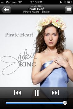 """Weee! Check out my new single, """"Pirate Heart"""" on iTunes:) Happy Valentine's Day!!"""