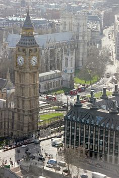 ♥ Big Ben & Westminster Abbey ~ London