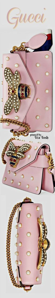 ❇Téa Tosh❇ Gucci, Broadway leather clutch