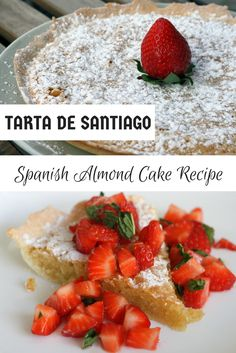 Have you heard of Tarta de Santiago? It's a delicious Spanish almond cake that's super easy to make! My version has only five ingredients-- try it here: http://spanishsabores.com/2015/06/07/tarta-de-santiago-recipe-spanish-almond-cake/