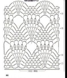 Patroon wit sjaaltje