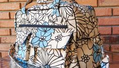 Sew and Sell: Stella Travel Bag - PDF Pattern  |  Free Serger Lesson from Amy Alan